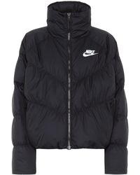 Nike Veste doudoune - Noir