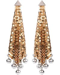 Paco Rabanne - Chain-link Earrings - Lyst
