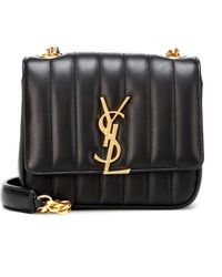 Saint Laurent - Vicky Small Leather Shoulder Bag - Lyst