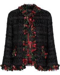 Dolce & Gabbana Exclusive To Mytheresa – Tweed Jacket - Black