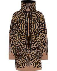 Givenchy Pull en jacquard de laine mélangée - Marron