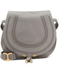 Chloé Marcie shoulder bag - Grigio