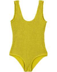 Bottega Veneta - Ribbed-knit Swimsuit - Lyst