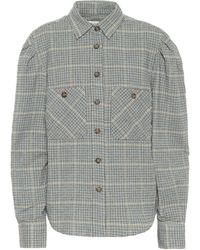 Étoile Isabel Marant Camisa Falco en mezcla de algodón - Verde