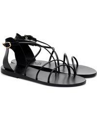 Ancient Greek Sandals Meloivia sandals - Schwarz