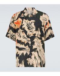 Our Legacy Platigyra Printed Short-sleeved Shirt - Multicolour