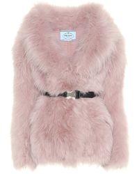 Prada Jacke aus Kaschmir - Pink