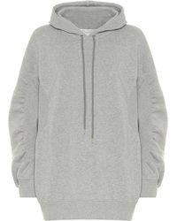 Stella McCartney Sweatshirt mit Applikationen - Grau