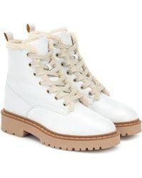 Hogan - Ankle Boots aus Leder - Lyst