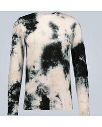 Off-White c/o Virgil Abloh Langarmshirt mit Batik-Print - Mehrfarbig