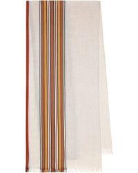 Loro Piana Pañuelo The Suitcase Stripe - Multicolor