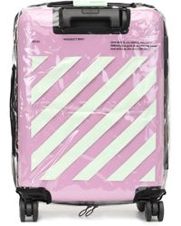 Off-White c/o Virgil Abloh Quote Carry-on Suitcase - Pink