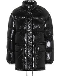 RED Valentino - Nylon Quilted Down Coat - Lyst