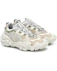 Acne Studios Bolzter W Tumbled Sneakers - Multicolor