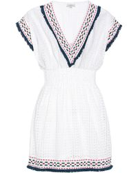 Talitha - Cotton Eyelet Dress - Lyst