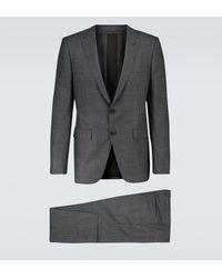 Ermenegildo Zegna Wool And Silk-blend Suit - Grey
