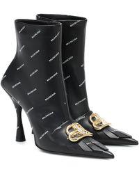Balenciaga Knife Boots for Women - Up
