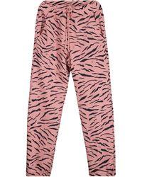 Velvet Pantaloni sportivi Sang in cotone - Rosso