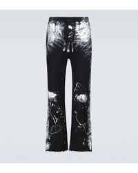 Balenciaga Painter Jersey Sweatpants - Black
