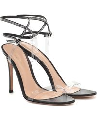 Gianvito Rossi Exclusive To Mytheresa – Pvc And Leather Sandals - Black