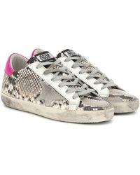 Golden Goose Deluxe Brand - Sneakers Superstar aus Leder - Lyst