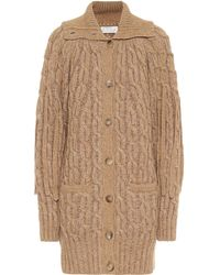 Chloé Cable-knit Cardigan - Natural