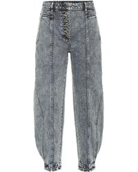 Ulla Johnson Brodie High-rise Tapered Jeans - Multicolour