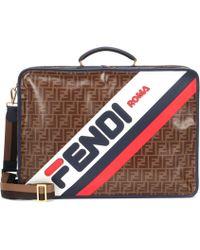 Fendi - Mania Printed Travel Bag - Lyst