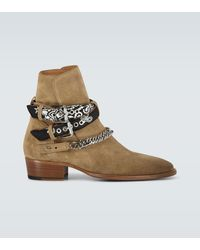 Amiri Ankle Boots Bandana Buckle - Mehrfarbig