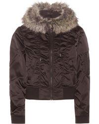 Yeezy - Faux Fur-trimmed Jacket (season 1) - Lyst