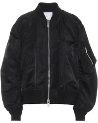 Sacai Nylon Bomber Jacket - Black