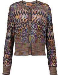 Missoni Cardigan en laine - Multicolore