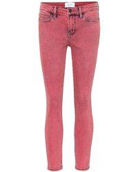 Current/Elliott Jeans skinny The Stiletto - Rosa