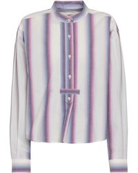 Étoile Isabel Marant Camisa Jamet de algodón de rayas - Multicolor