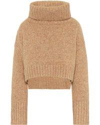 Cult Gaia Cori Roll-neck Sweater - Metallic