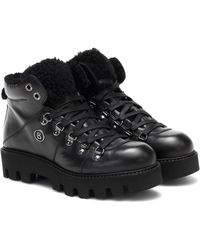 Bogner Copenhagen Leather Snow Boots - Black