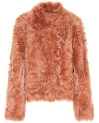 Meteo by Yves Salomon - Reversible Lamb Fur Jacket - Lyst