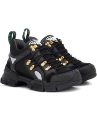 Gucci - Sneakers Flashtrek aus Leder - Lyst
