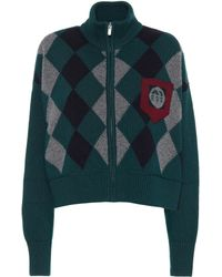 Miu Miu - Jacke aus Wolle - Lyst