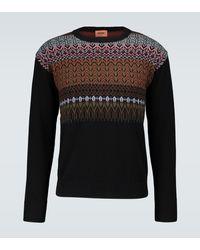 Missoni Pullover aus Wolle - Schwarz