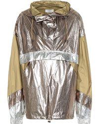 Étoile Isabel Marant Veste imperméable Kizzy à capuche - Multicolore