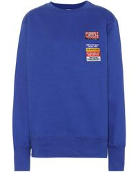 Eytys Jersey Lennox Patch - Azul