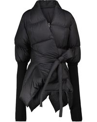 Rick Owens - Quilted Down And Virgin Wool Jacket - Lyst
