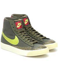 Nike Blazer Mid'77 schuh - Grün