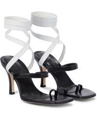 Christopher Esber Leather Sandals - Black