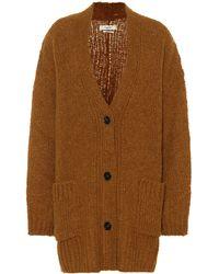 Étoile Isabel Marant Sadlery Wool-blend Cardigan - Brown