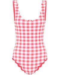 Marysia Swim Exclusive To Mytheresa – Palm Springs Reversible Swimsuit - Pink