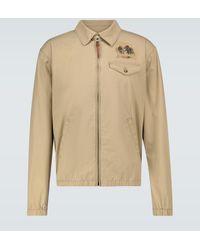 Polo Ralph Lauren Exclusivo en Mytheresa – chaqueta Bayport estampada - Neutro
