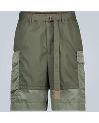 Sacai Shorts cargo - Multicolore