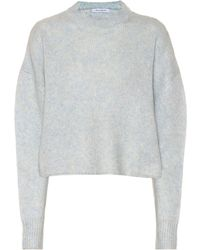 Ryan Roche - Exclusive To Mytheresa – Cashmere And Silk Cropped Sweater - Lyst